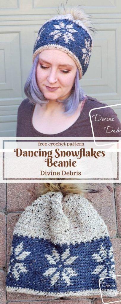 #Beanie #Crochet #Dancing #DivineDebriscom #Free #Patt