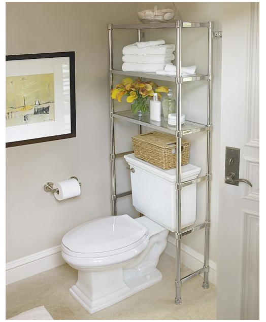 Over Toilet Etagere Pottery Barn Bathroom Storage Over Toilet