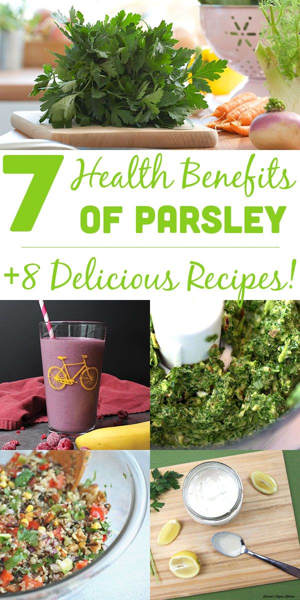7 Health Benefits of Parsley and Delicious Recipes ...