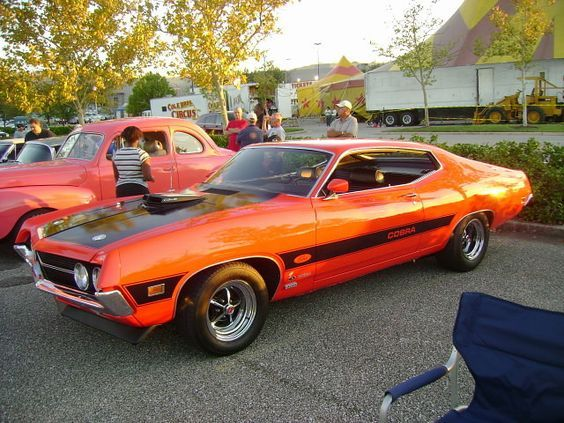 1970 Ford Torino Cobra Twister Special Love The Orange Ford