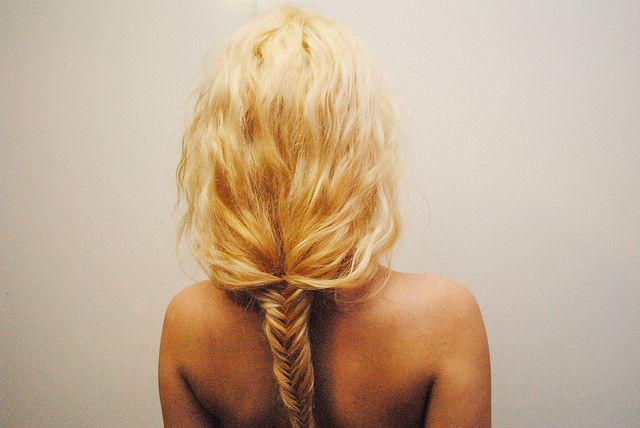 braided fishtail. (reminds me of @Maggie Humphreys !)