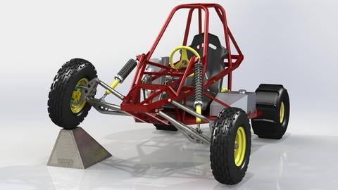 Edge Sidewinder Buggy With Front Suspension Upgrade
