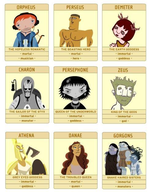 Greek God And Goddesses Games