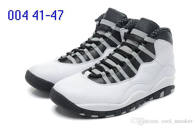 2c4258ddf1a5de 2018 10 for Powder Blue cool Grey OVer red Chicago London Mens Basketball  Shoes classic 10s X Mid Athletic Sport Sneakers