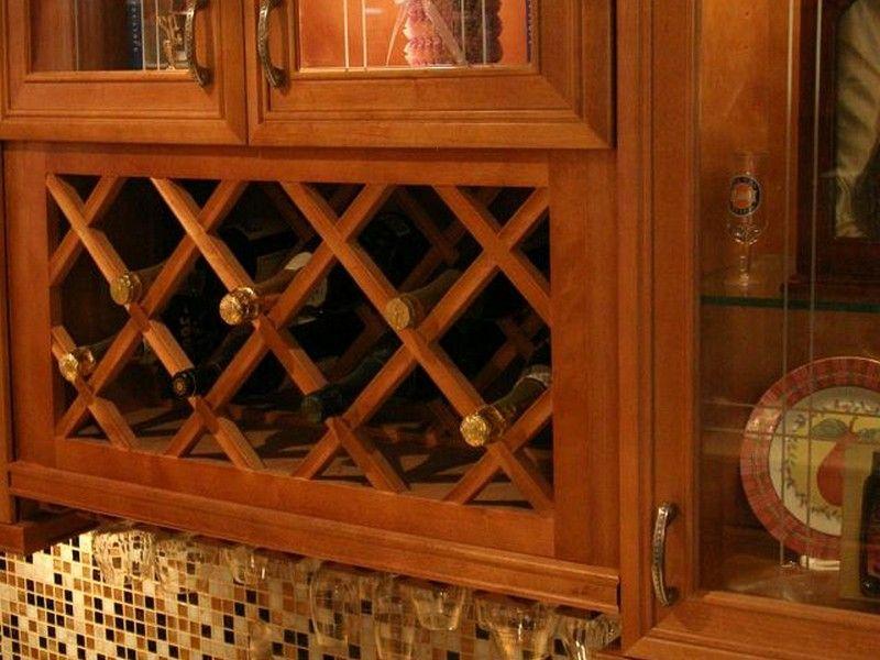 Wine Rack Inserts Lattice | Online kitchen cabinets ...