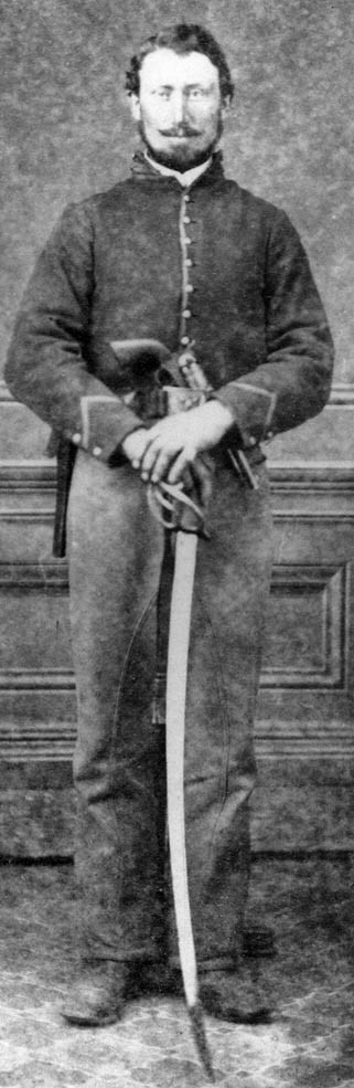 Unidentified Union Cavalry Private With Images Civil War