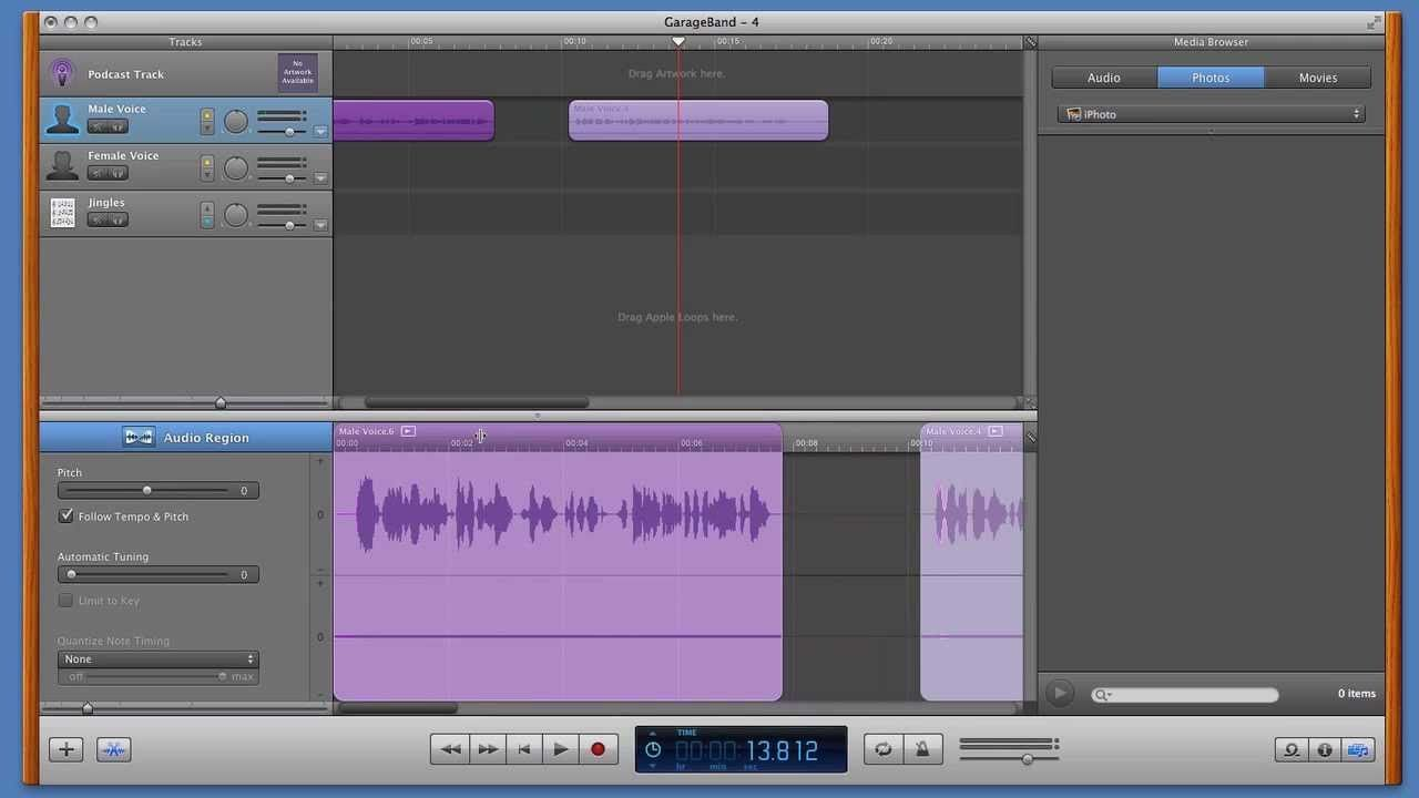 GarageBand How to record, edit and export your podcast