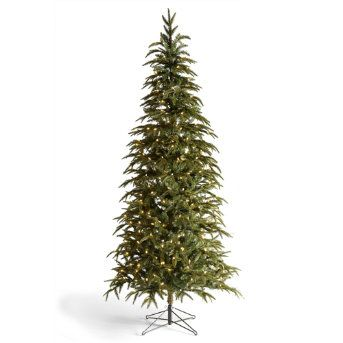 Hemlock Slim Artificial Christmas Tree Grandin Road Slim Artificial Christmas Trees Artificial Christmas Tree Christmas Tree