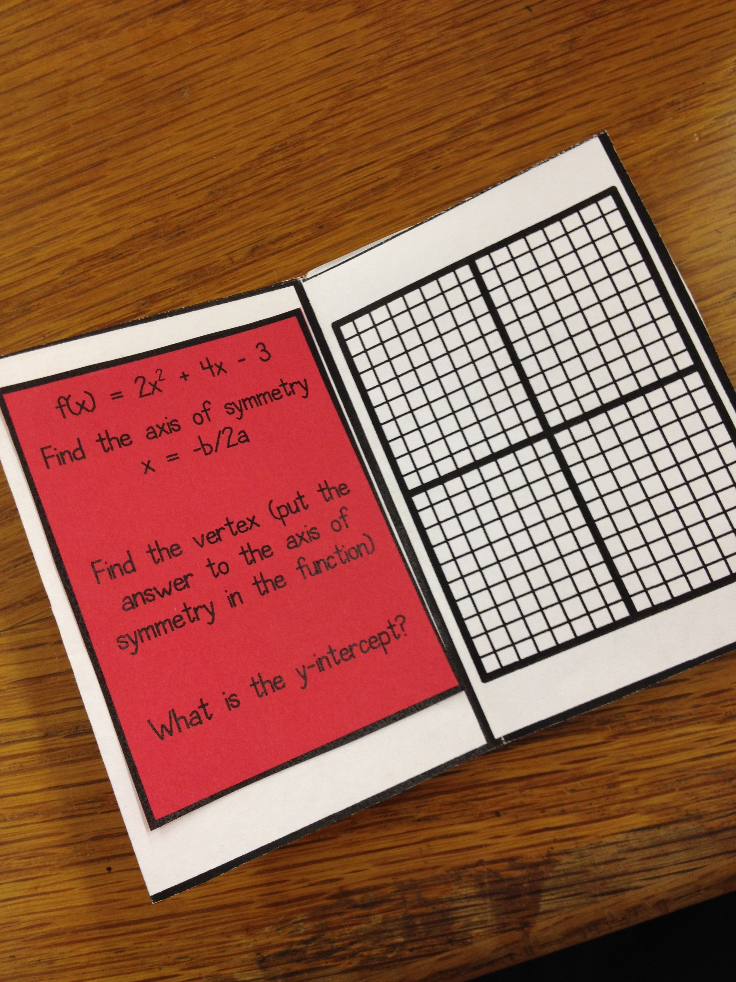 Quadratic Equations Mini Book Free From Andrea Of For The Love Of Teaching Math