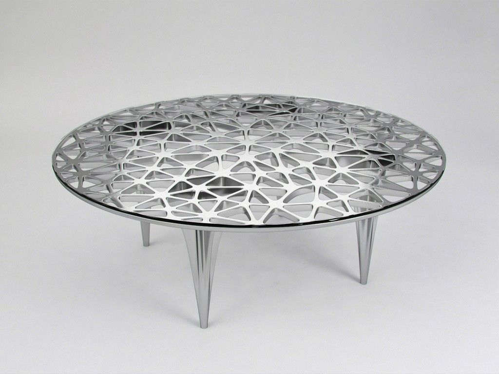 Janne Kyttanen Sedona Lounge Table Polished Stainless