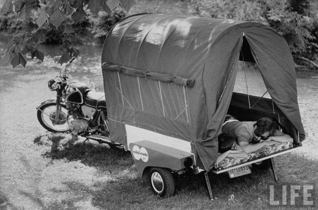 1970 camping