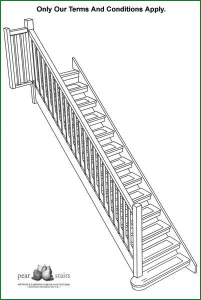 Best Gringras Open Hemlock Staircase Design Wooden Stairs 400 x 300