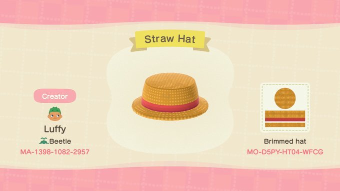 Here's all the one piece fan clothes i made in acnh feel free to use, and please tell me if you use them. Stop Giving Me Bears On Twitter Animal Crossing Qr Codes Clothes Animal Crossing Qr Codes Animal Crossing