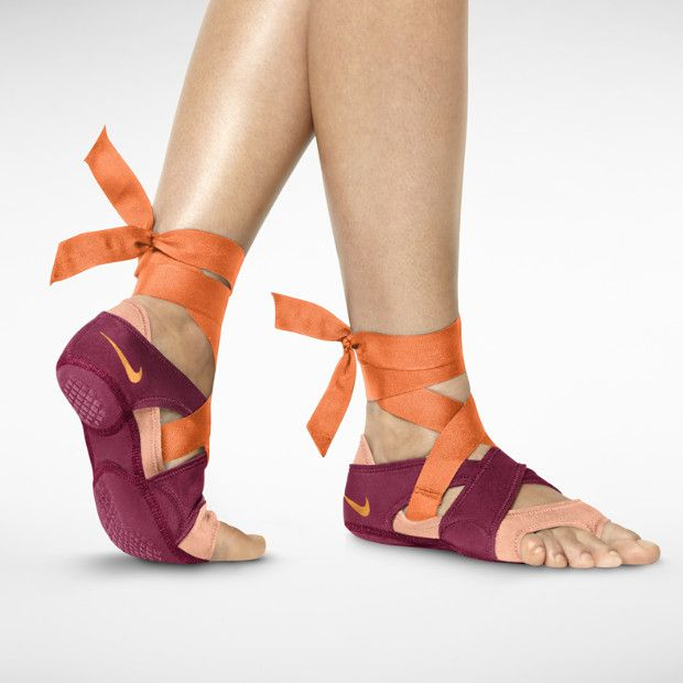 Best Yoga Shoes With Arch Support: Nike Studio Wrap Sandals Plus Flat Pack. $110