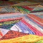 Photo of Dicke Decke aus Sockenwollresten – Strick – Ideen