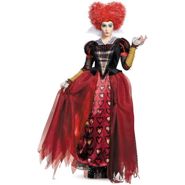 Alice Through the Looking Glass: Red Queen Deluxe Adult Costume ($70) ❤  liked