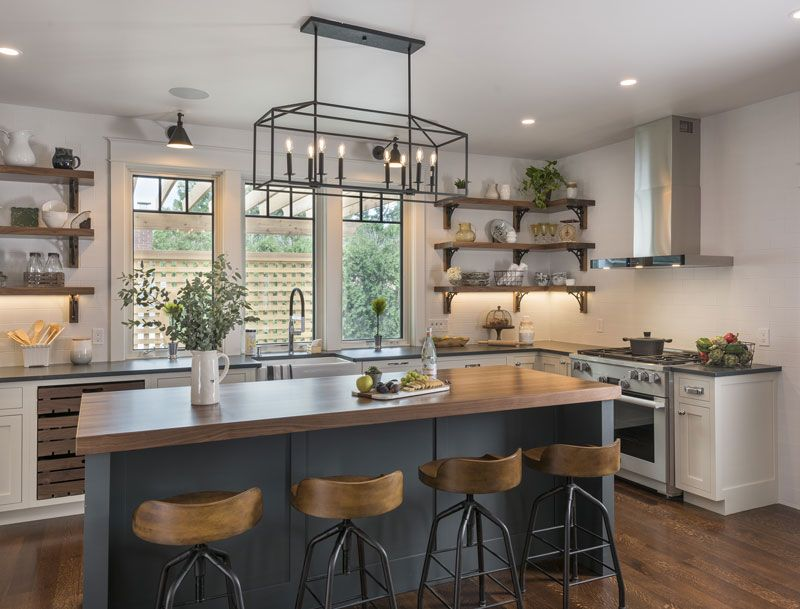 According To Houzz One Of 32 Home Design Trends That Will Rule In 2019 Is Wood On Wood Kitchens Click Kitchen Dining Room Combo Kitchen Trends Kitchen Style