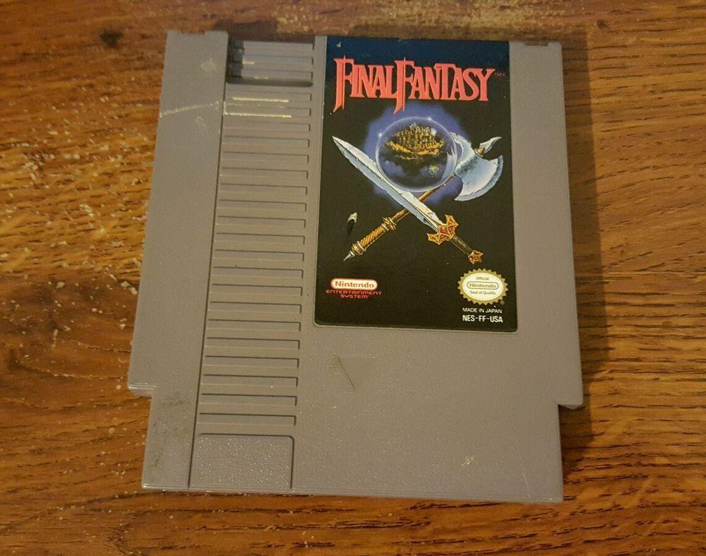 Final Fantasy Game for Nintendo NesGame for Nintendo Nes