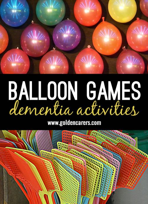 Balloon Games | Alzheimer's, Dementia, Parkinson's | Elderly