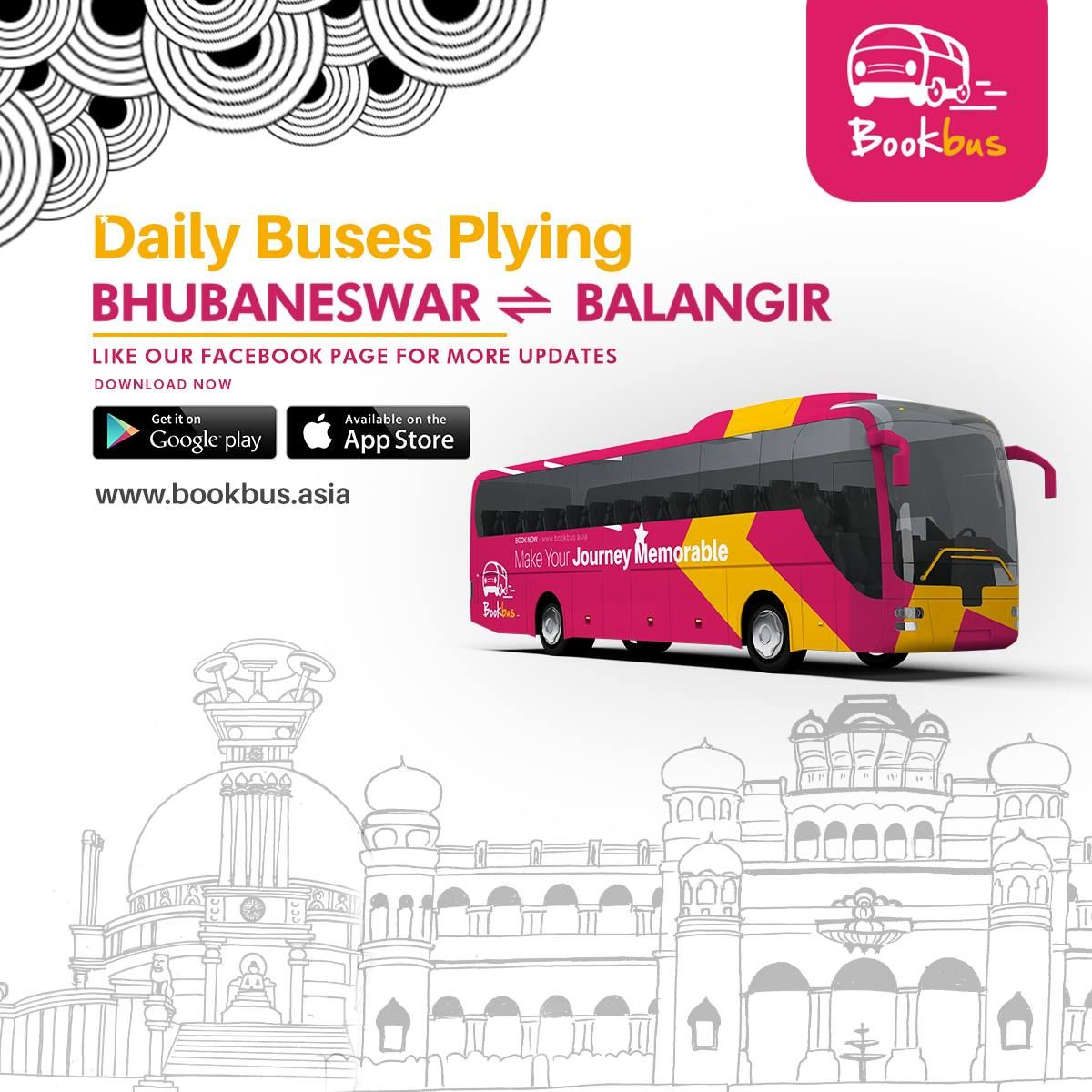 Travellers between Bhubaneswar & Balangir  Now save time by