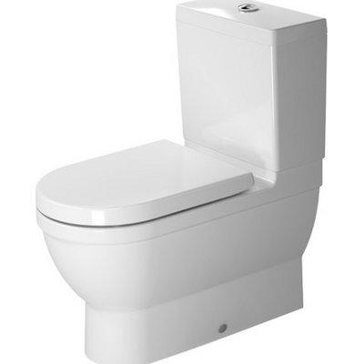 Duravit Starck 1 28 Elongated Toilet Seat Not Included Duravit Toilet Bowl Modern Bathroom Decor