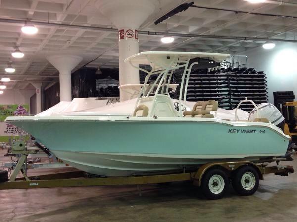 Key West Boats Sea Foam Green 219 Fs