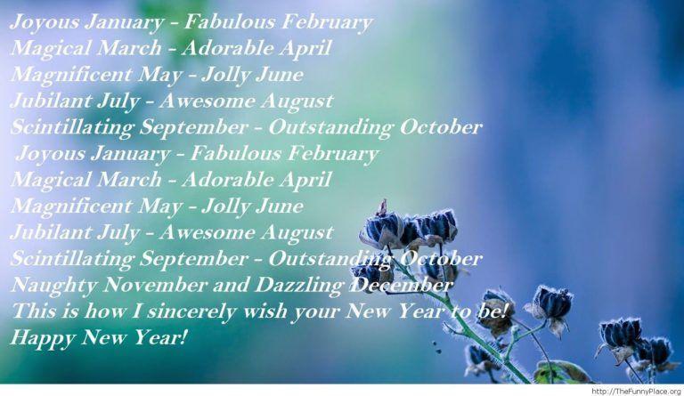 short happy new year poems