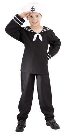 Kinderkostüm Seemannskostüm Matrosenkostüm Sailor Lance