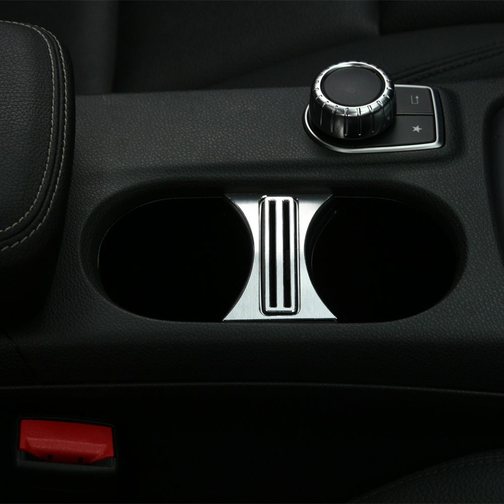 Car cover cup holder interior accessories car styling for mercedes ...