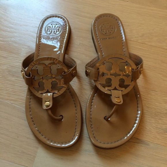 Tory Burch Miller. Nude SandalsShoes ...