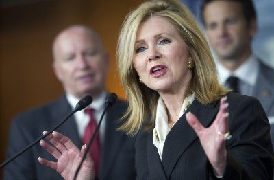 """Hours after Congress missed its deadline to agree on a continuing resolution, Tennessee Republican Rep. Marsha Blackburn was on """"Fox & Friends"""" saying the federal government might go into partial shutdown for several days, but """"people are probably going to realize they can live with a lot less government than what they thought they needed."""""""