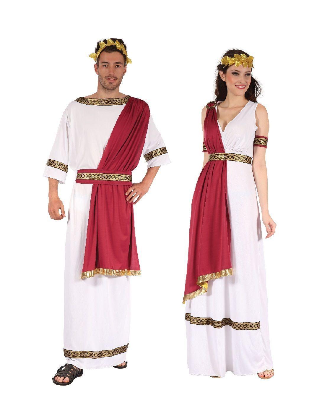 Ancient Greek Roman King God And Goddess Costumes Fancy