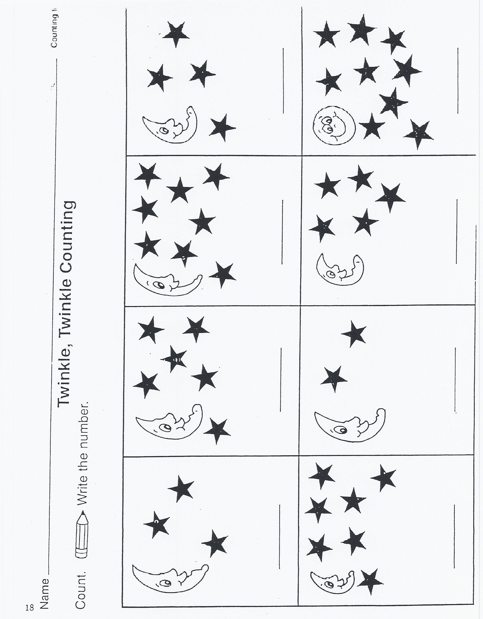 Outer Space Kindergarten Activities