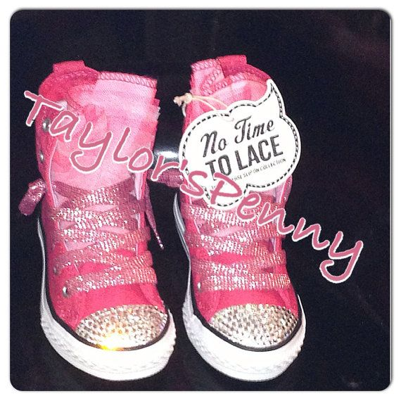 0efa5b5f884c Custom Converse Chuck Taylor No Time to Lace with by TaylorsPenny ...