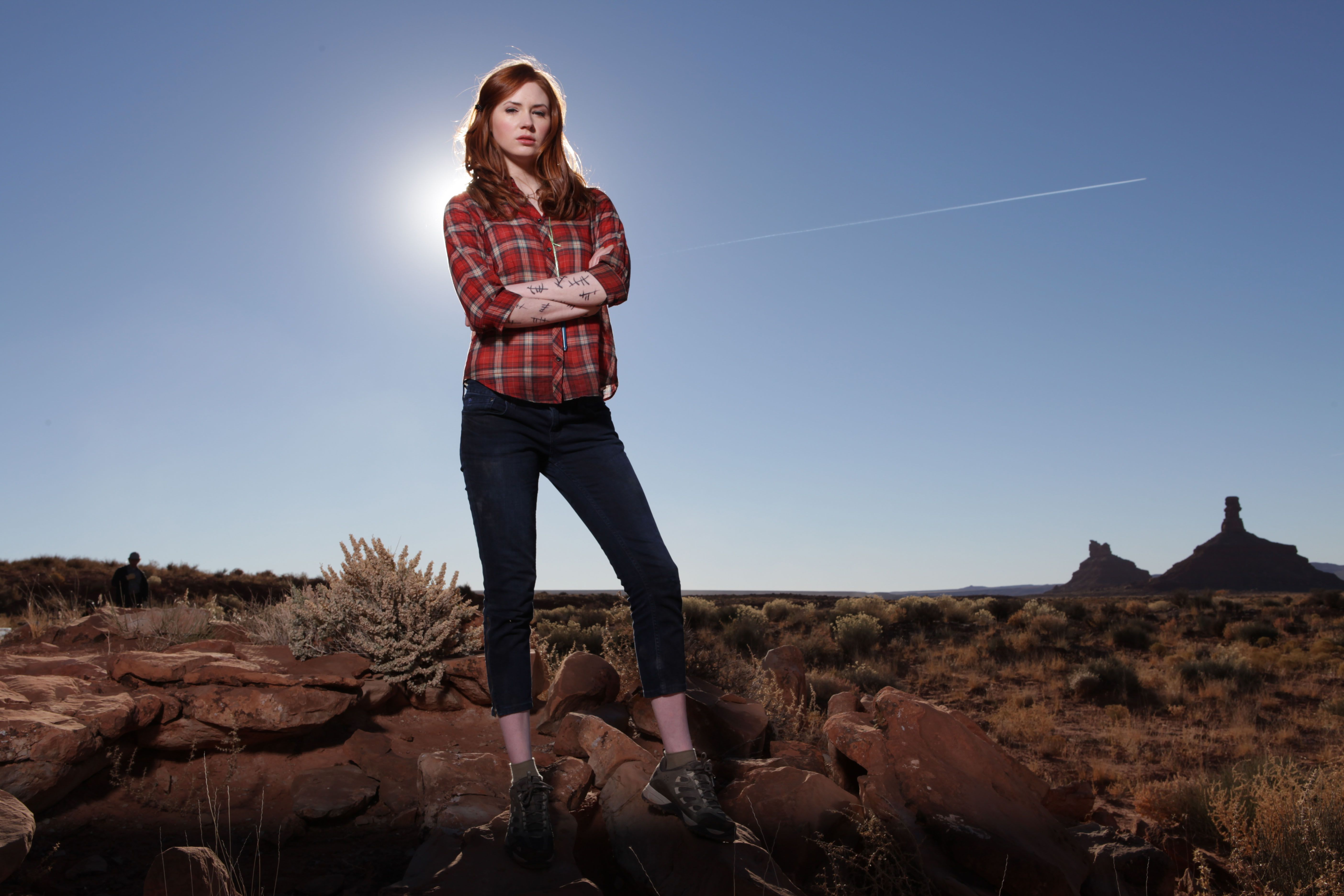 Amy Pond: There\'s something about this outfit I like...I like lots ...