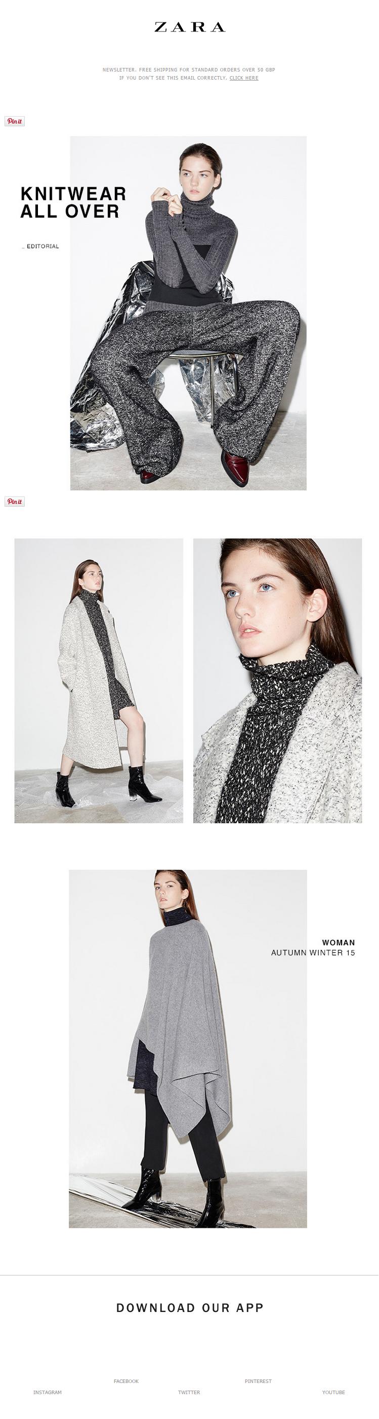 Zara Newsletter