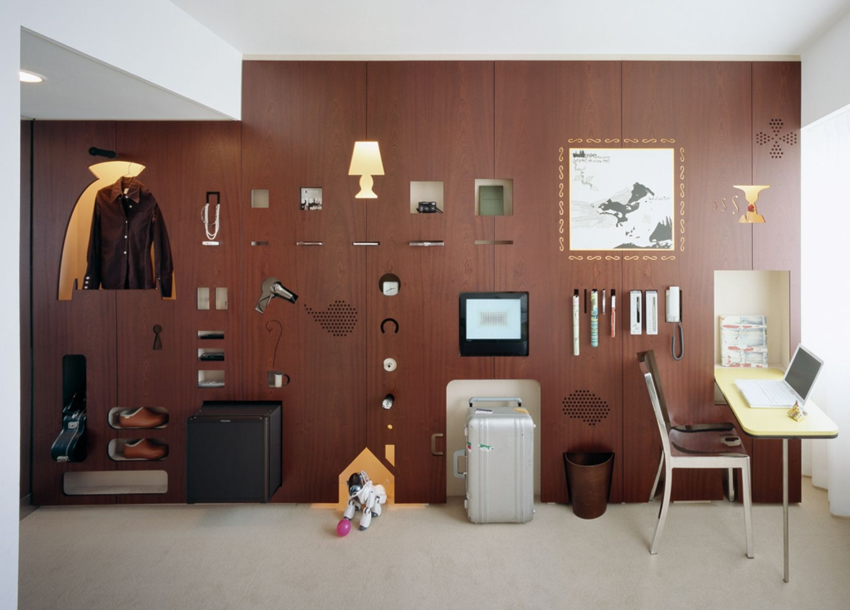 functions furniture. Torafu Crafts Furniture That Functions Like A Room M