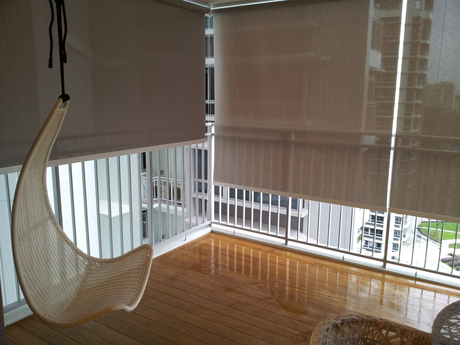 Balcony Rain Curtains Balcony Pinterest Balconies