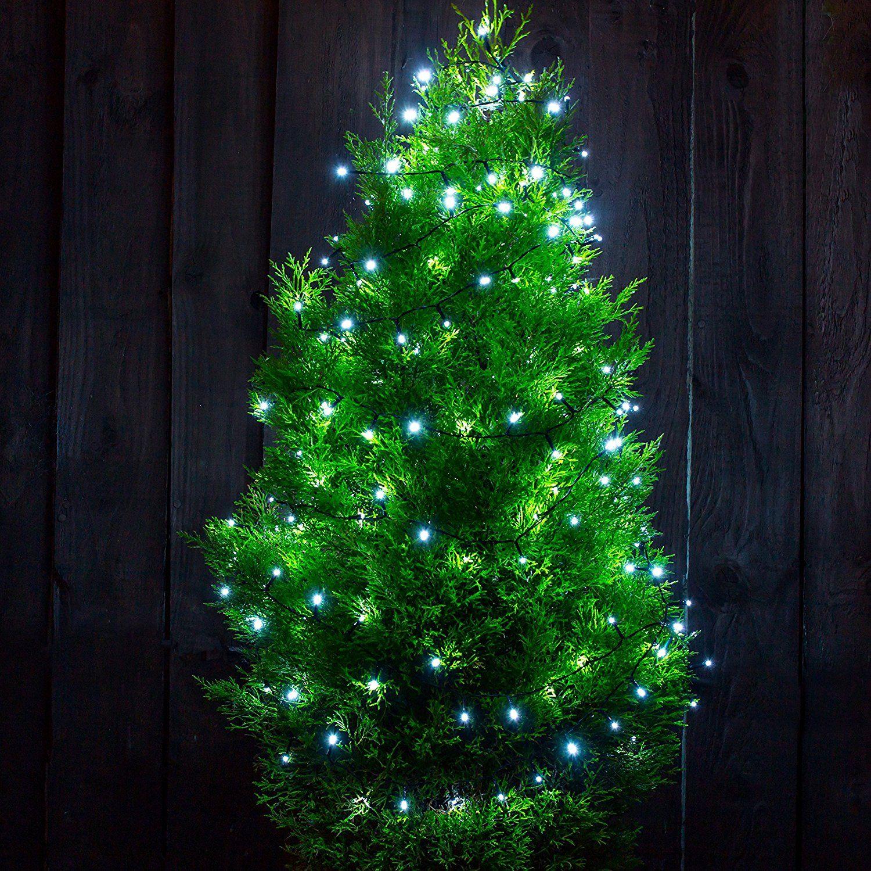 Blaue Weihnachtsbeleuchtung.Solar Panel Led Christmas Lights Blau Solar Weihnachtsbeleuchtung