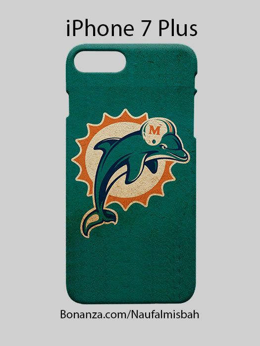 Miami Dolphins Old iPhone 7 PLUS Case Cover Wrap Around