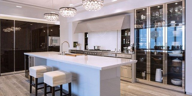 Elegant Love This Design (all But The Stools) Siematic NY Showroom. Contemporary Kitchen  CabinetsContemporary ...