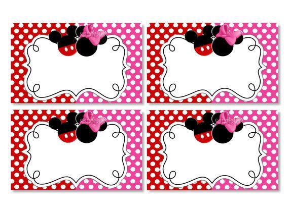 Twin Mickey Minnie Printable Birthday Party Invitation by – Mickey and Minnie Party Invitations