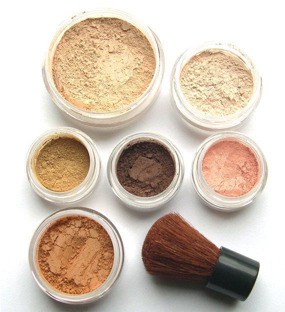 SUMMER GLOW - Makeup Kit Mineral Makeup - Pure Natural Vegan