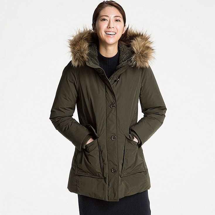 cc2fee1b1 Women warm tech down military coat | {wishlist} | Winter jackets ...
