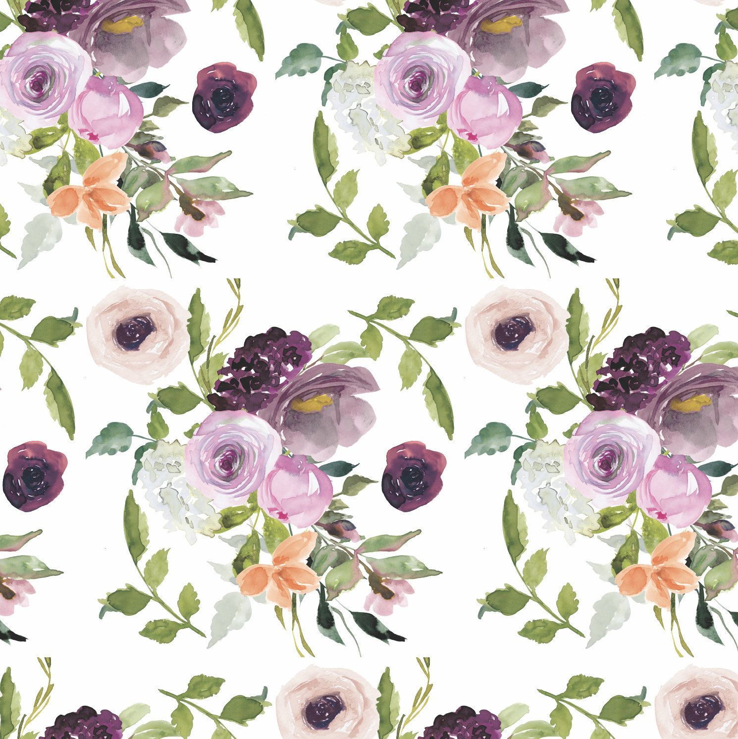 Floral Fabric Flower Fabric Cotton Fabric Knit Fabric Fabric By The Yard Flower Prints Floral Prints Quil Floral Printables Floral Prints Fabric Flowers