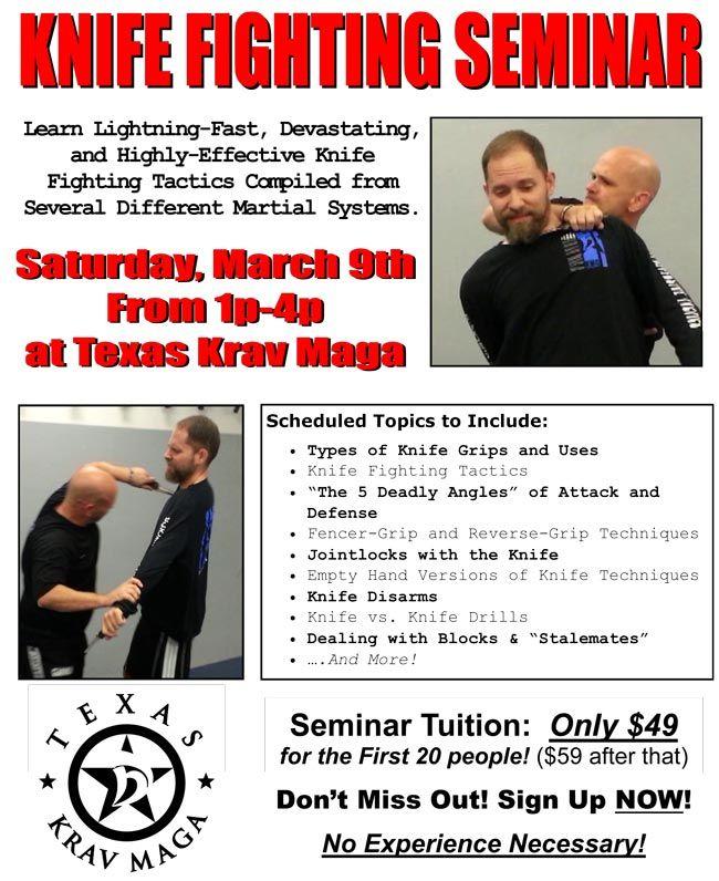 Knife Fighting Seminar