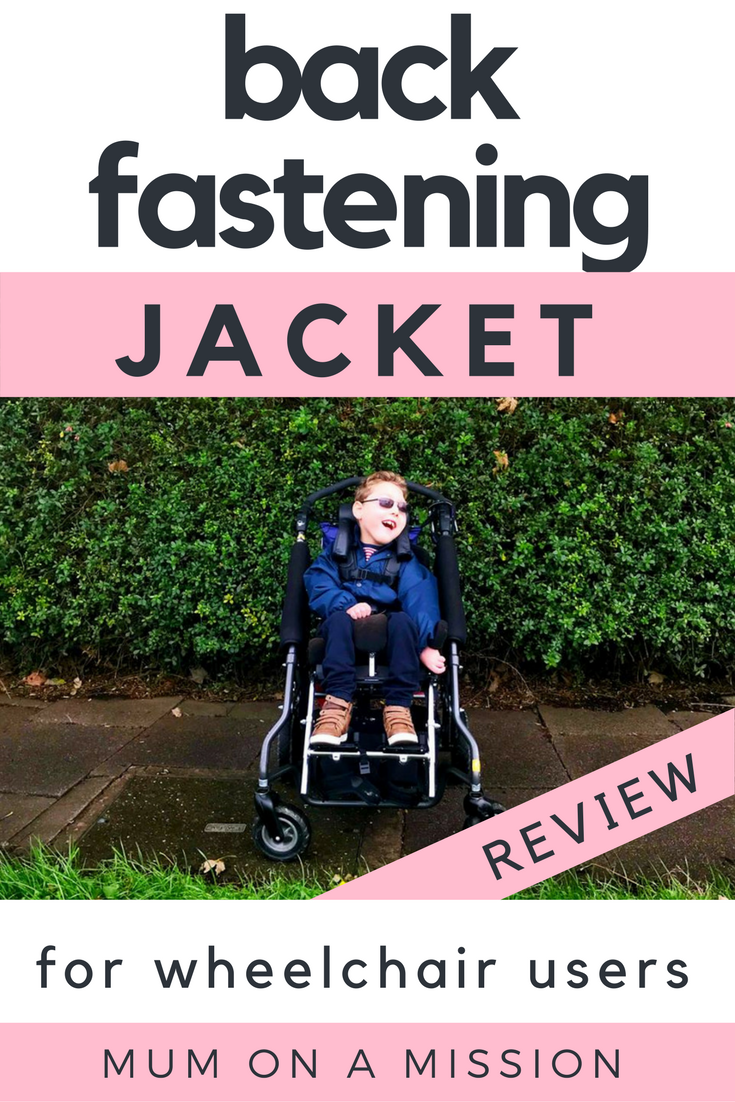 Children's BackFastening Wheelchair Adapted Jackets