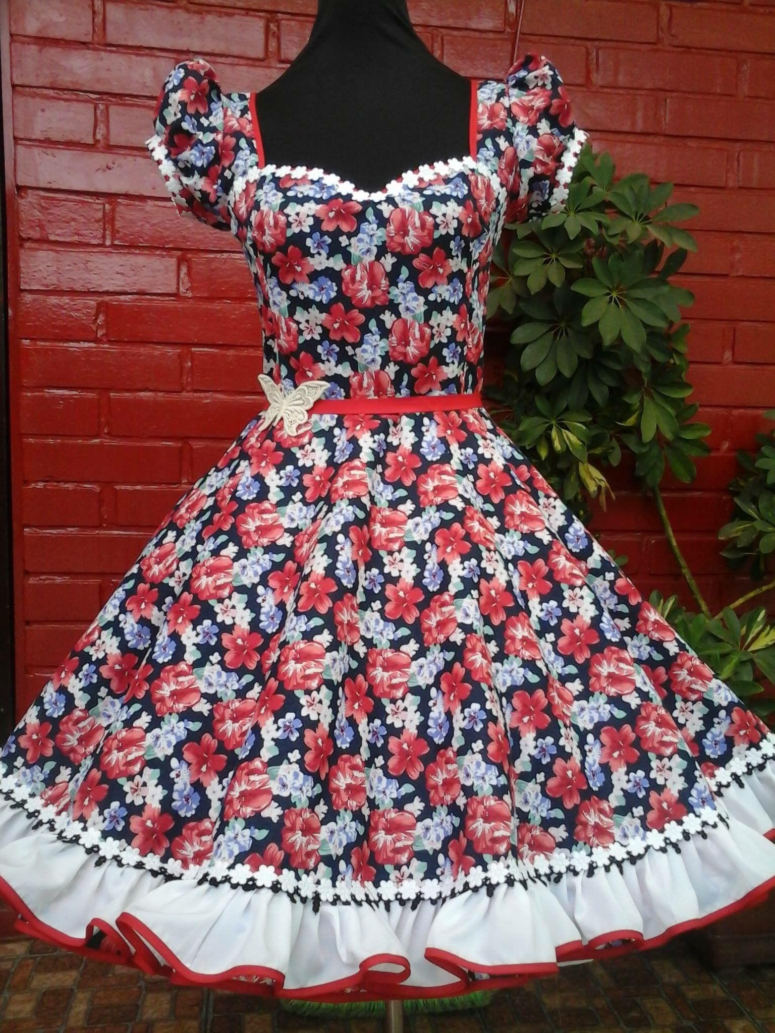 I love this full dress Vestidos De Huasa China a55d4af3c403