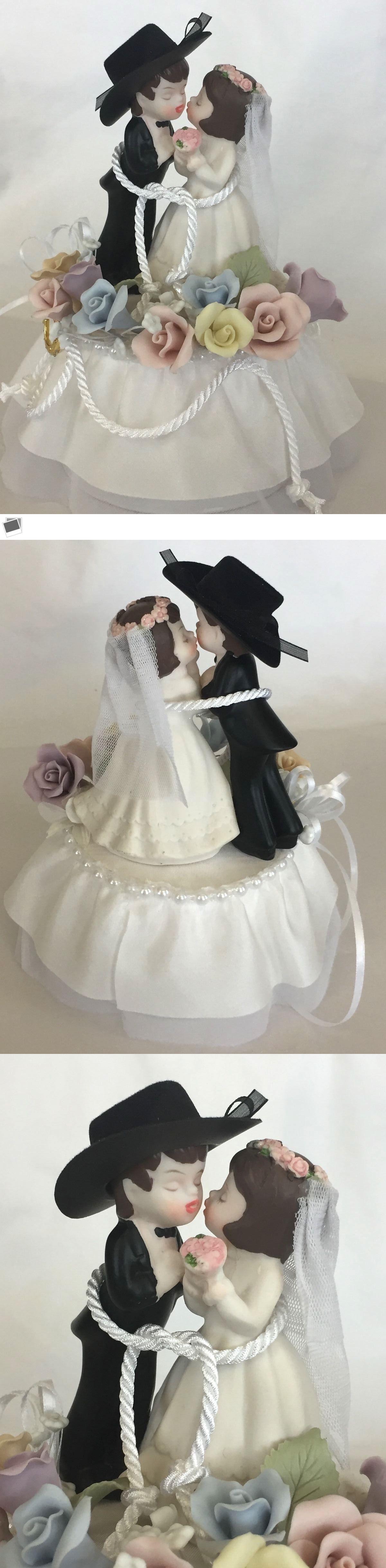 Fine Jack Sally Wedding Cake Toppers Adornment - The Wedding Ideas ...