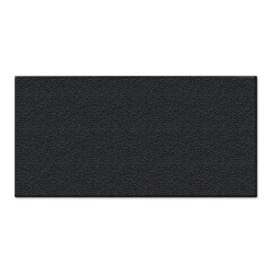 Shop Apache Mills Inc Black Garage Mat Common 4 Ft X 8 Ft Actual Garage Mats Rectangular Durable Vinyl